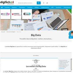 Travailler dans le Big Data : métiers, formations - orientation.com