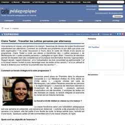 Lycée : Travailler les Lettres persanes par alternance