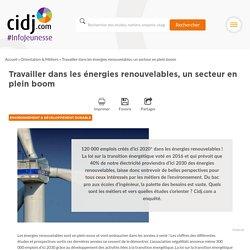Travailler dans les énergies renouvelables, un secteur en plein boom