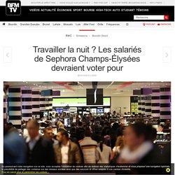 Travailler la nuit ? Les salariés de Sephora Champs-Élysées devraient voter pour