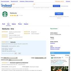 Travailler chez Starbucks - France : Culture, salaires, avantages et avis