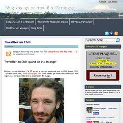 Blog voyage et travail à l'étranger