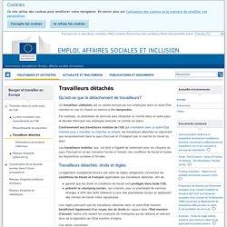 Travailleurs détachés - Emploi, affaires sociales et inclusion - Commission européenne