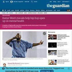 Kanye West's travails help hip-hop open up on mental health