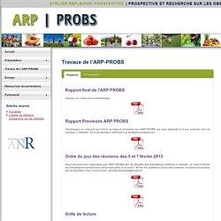 ATELIER REFLEXION PROSPECTIVE - NOV 2012 - Synthèse des analyses prospectives des recherches sur les obésités