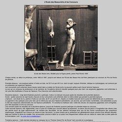 Travaux d'élèves, concours Prix de Rome : Concours de la Figure peinte