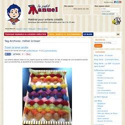 Le Petit Manuel - Travaux manuels et loisirs créatifs pour enfants de 2 à 12 ans