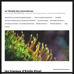 les travaux d'Emile Pinel - Le Temple des Consciences