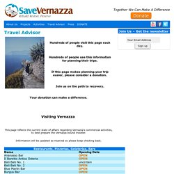 Save Vernazza ONLUS