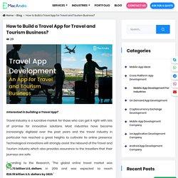 Travel Mobile App Development