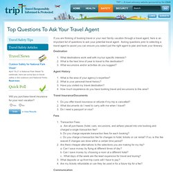 how to ask travel agent to authorise you