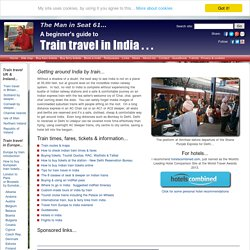 Train travel in India - a beginner's guide
