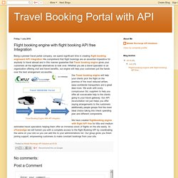 Online Flight booking engine with flight API free - Cyrus Recharge solutions