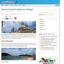 Travel to Spain on a budget