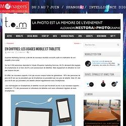 En chiffres: Les usages mobile et tablette
