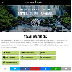 Travel Companies and Resources