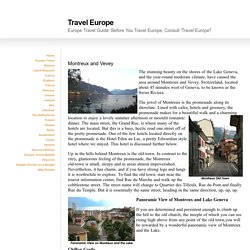 Europe Travel Guide: Before You Travel Europe, Consult 'Travel Europe'!