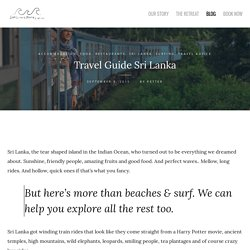 Travel Guide Sri Lanka