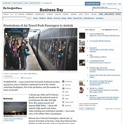 Air Travel's Hassles Drive Riders to Amtrak's Acela
