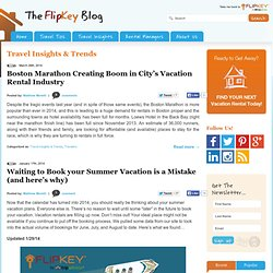 Blog – Expanding the Vacation Rental Market » Market Statistics