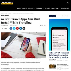 10 Best Travel Apps You Must Install While Traveling