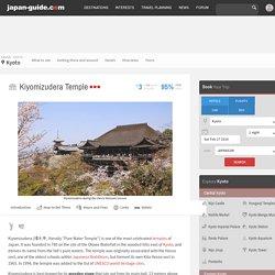 Kyoto Travel: Kiyomizudera Temple
