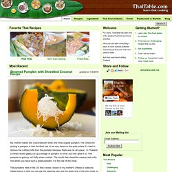 Learn Thai Cooking - ThaiTable.com - deep knowledge of Thai food