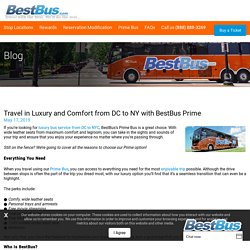 Luxury bus service from DC to NYC