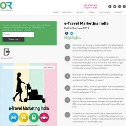 India e-Travel Marketing Research Report 2015