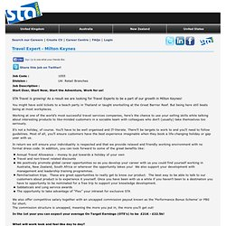 STA Travel Head Office Opportunities