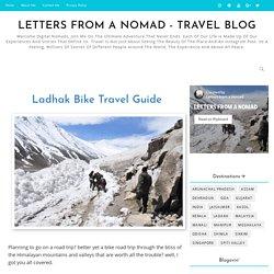 Travel All Parts Of Leh Ladakh By Bike? Ladhak Bike Travel Guide