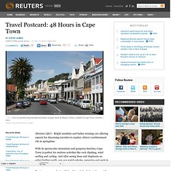 Travel Postcard: 48 Hours in Cape Town