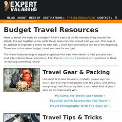 Travel Resources & Budget Tips