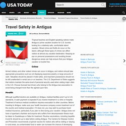 Travel Safety in Antigua
