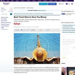 Best Travel Sites to Save You Money