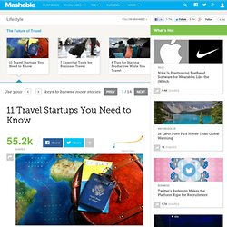 11 Travel Startups You Need to Know