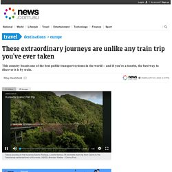 Swiss Travel Pass: Switzerland train ride will ruin your daily commute