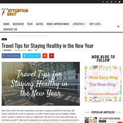 Travel Tips for Staying Healthy in the New Year