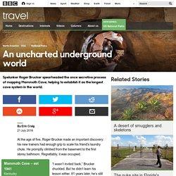 Travel - An uncharted underground world
