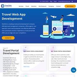 Travel Web App Development Company