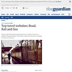 Top travel websites: Road, Rail and Sea