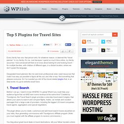 The 5 Key Travel Site WordPress Plugins