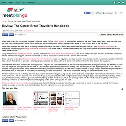 Review: The Career Break Traveler's Handbook