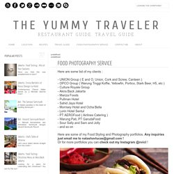 The Yummy Traveler: Food Photography Service