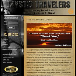 Mystic Travelers: Awakening — F.W. Rick Meyers ~ The official site for Mystic Travelers: Awakening