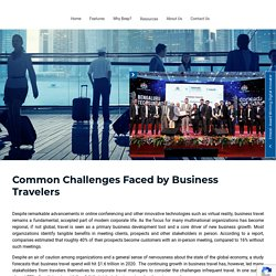 Business Travelers, Common Challenges Faced Business Travelers - BeepnBook