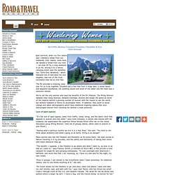 Rvs Offer Women Travelers Freedom, Flexibility & Fun : Road & Travel Magazine