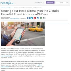 Traveling With ADHD: 9 Essential Smartphone Apps