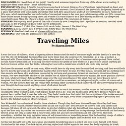 Traveling Miles