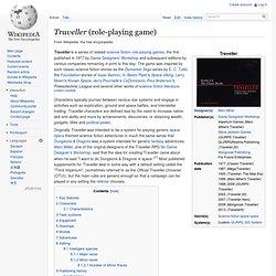 Traveller (game)